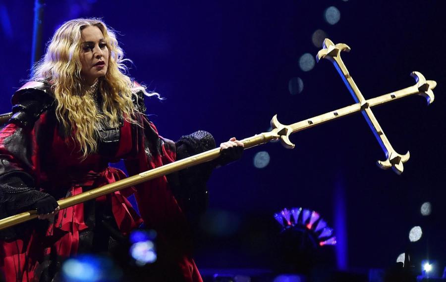 Madonna na trasie koncertowej w Europie