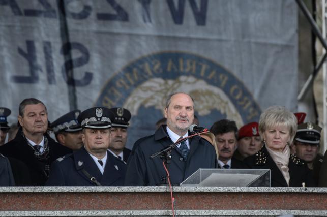 Antoni Macierewicz w Dęblinie