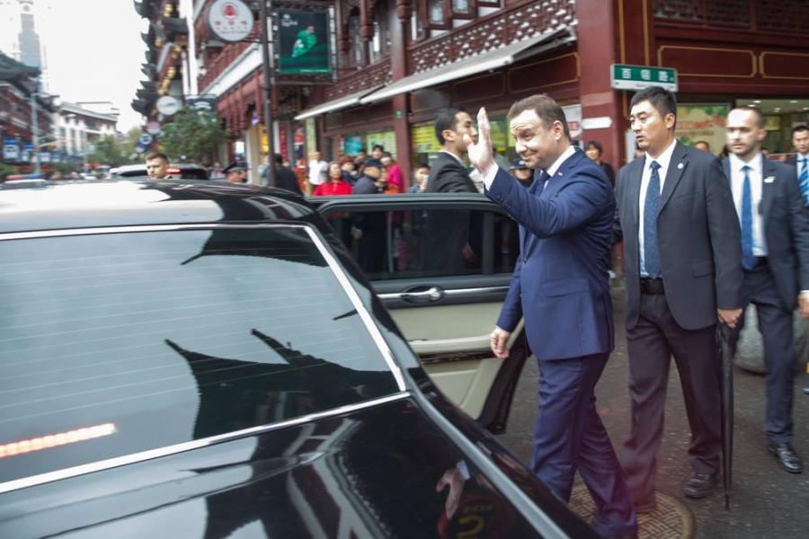 Hongqi L5 i Andrzej Duda