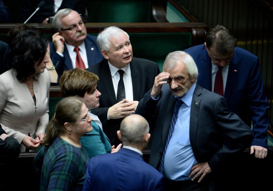 Jarosław Kaczyński, Beata Szydło i politycy PiS