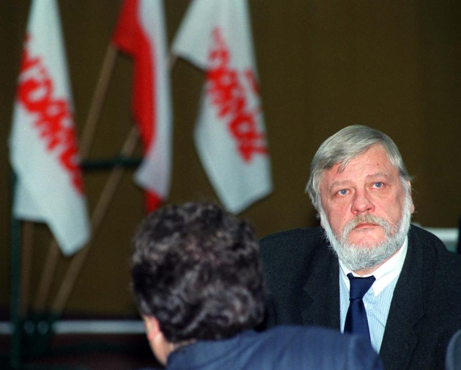 Maciej Jankowski (Zdjęcie archiwalne z 22.11.1997 )