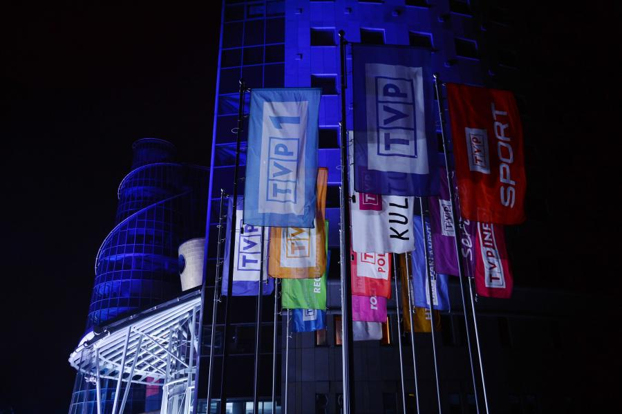 Budynek przy ul. Woronicza w Warszawie, siedziba TVP