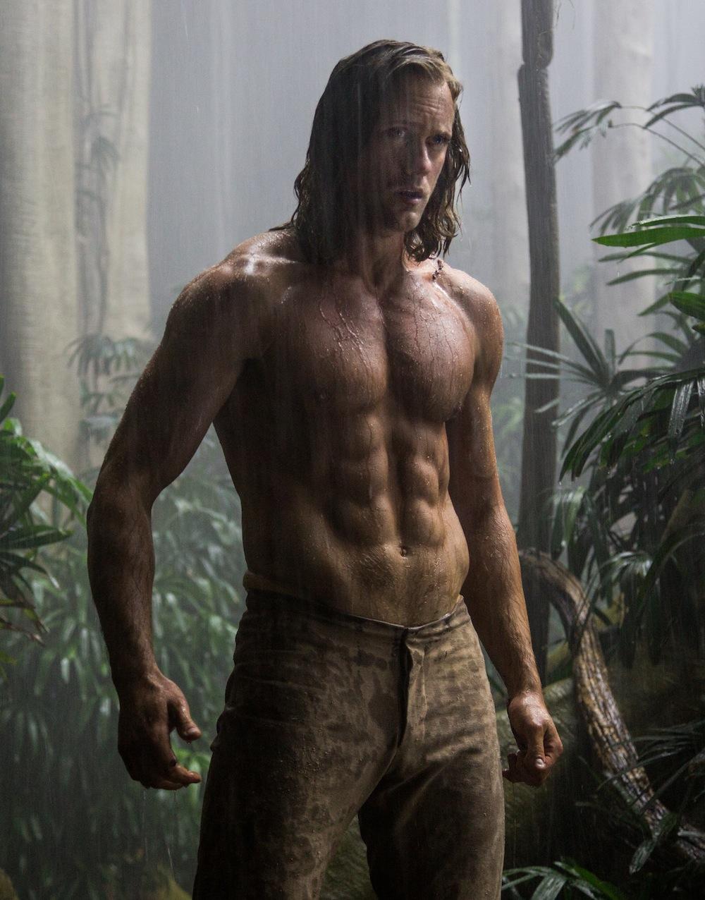 Alexander Skarsgard od czystej krwi wampira do Tarzana