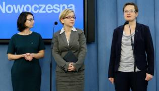 Kamila Gasiuk-Pihowicz, Paulina Henning-Kloska i Katarzyna Lubnauer