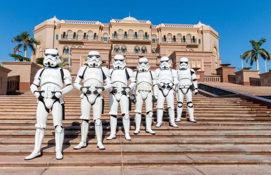 """Premiera """"Gwiezdnych wojen"""" w Abu Dhabi"""