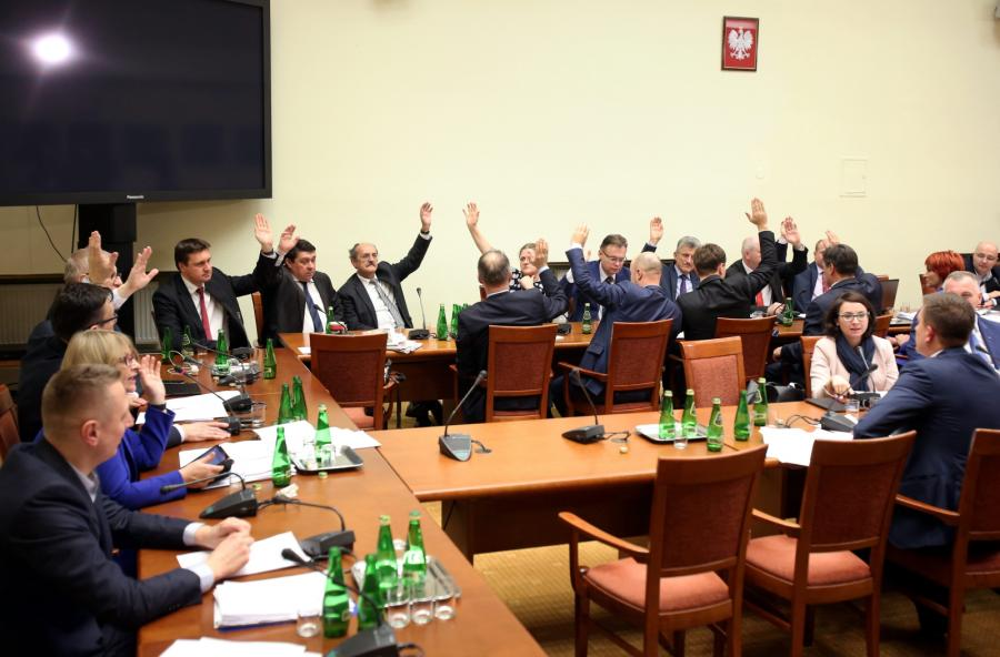 Posiedzenie Komisji Ustawodawczej