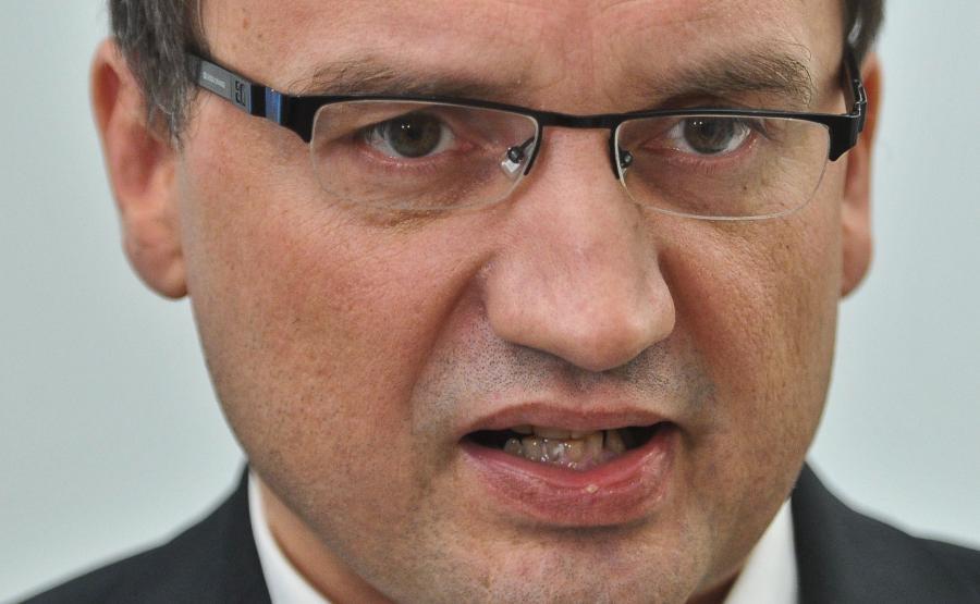Minister sprawiedliwści Zbigniew Ziobro