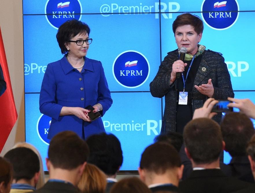 Elżbieta Witek; Beata Szydło