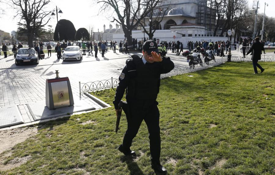 Eksplozja w Turcji