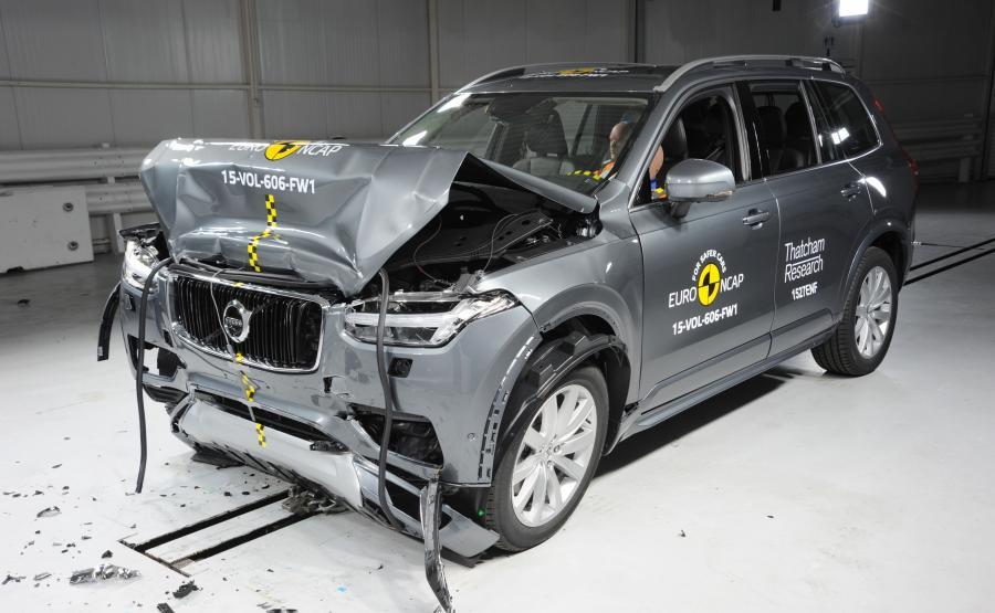 Volvo XC90 - najbezpieczniejszy SUV i najbezpieczniejszy samochód 2015 wg Euro NCAP