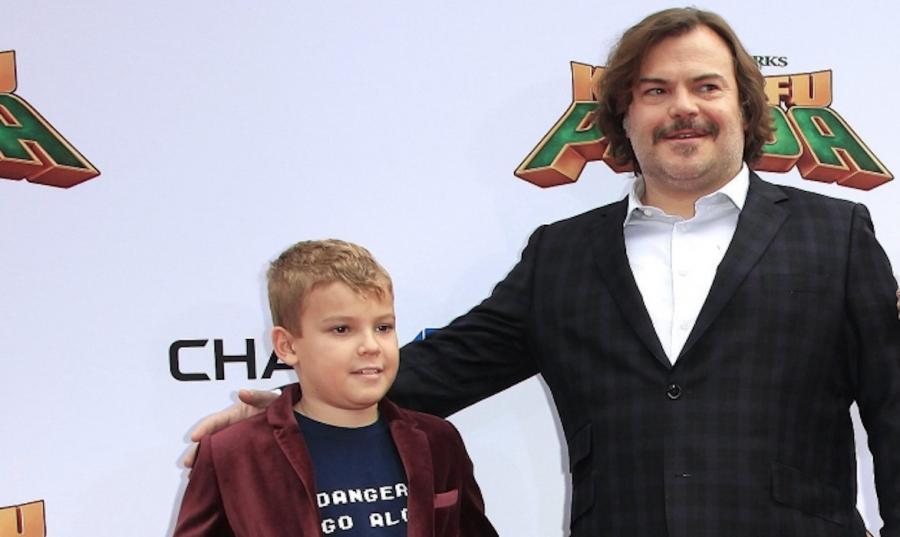 Jack Black z synem Samuelem