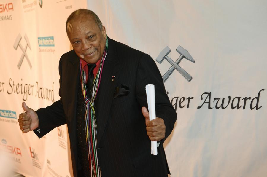 Quincy Jones oburzony na Amerykańską Akademię Filmową