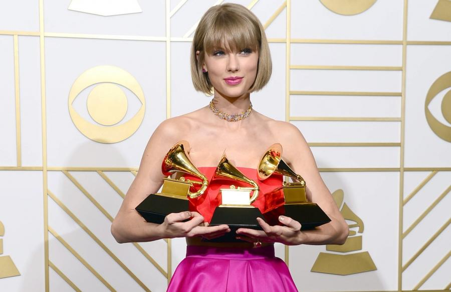 Pogromczyni Grammy – Taylor Swift