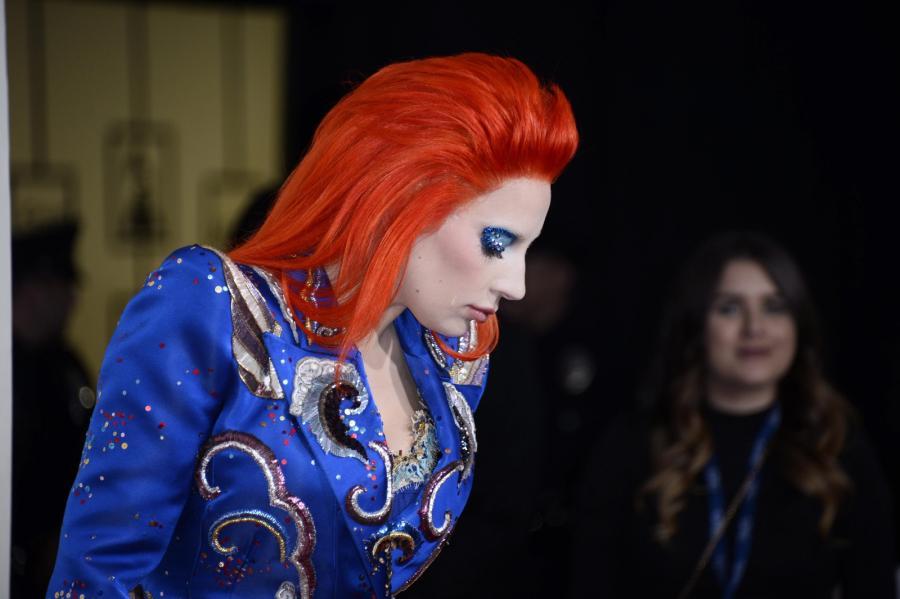Lady Gaga w hołdzie Davidowi Bowiemu