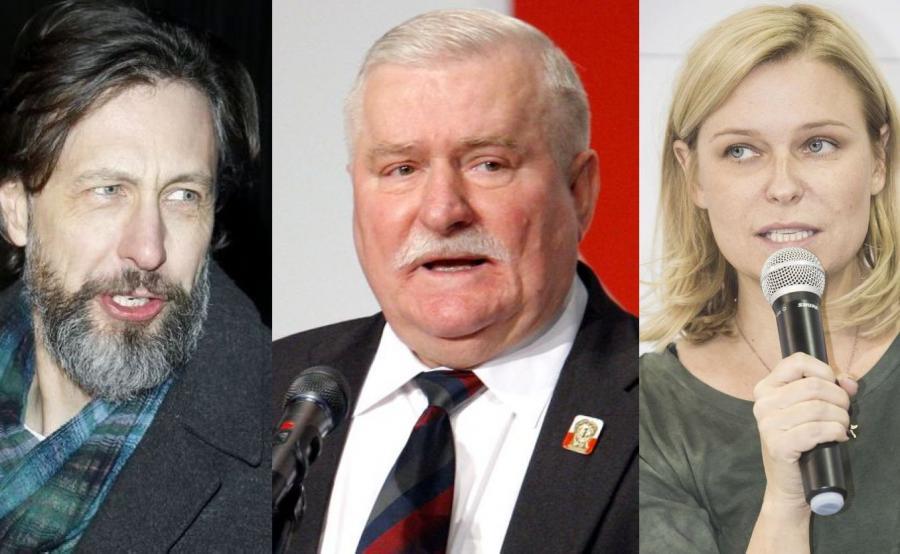 Szymon Majewski, Lech Wałęsa, Paulina Młynarska