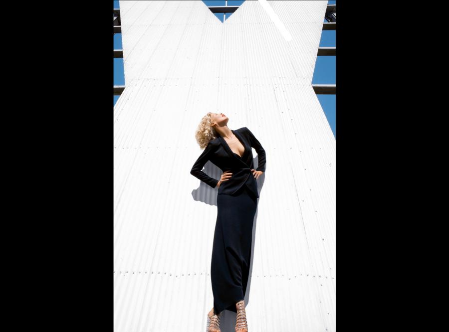 Claudia Shiffer została nową twarzą Yves Saint-Laurent