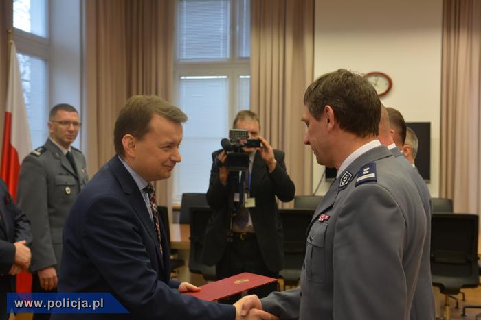 Minister Mariusz Błaszczak wręczył nagrody \
