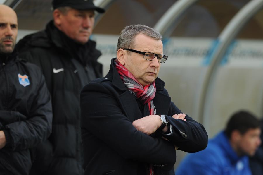Trener Termaliki Bruk-Bet Nieciecza Piotr Mandrysz