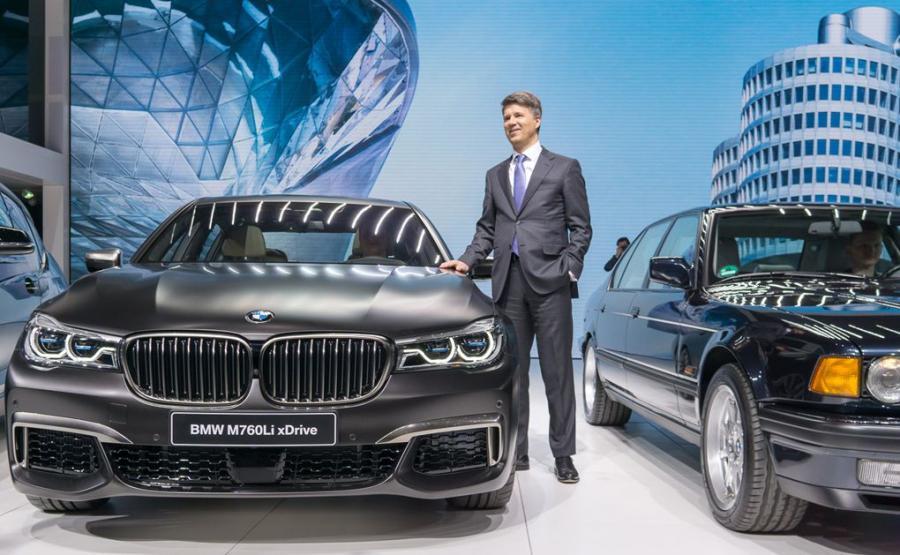 7. miejsce - BMW serii 7 - 143 punkty