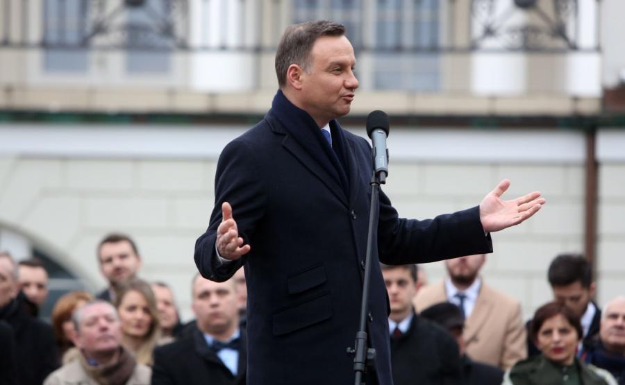 Prezydent Andrzej Duda odwiedził Otwock