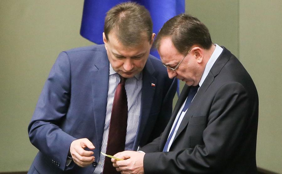 Mariusz Błaszczak i Mariusz Kamiński