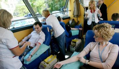 Niewidomi nareszcie będą mogli oddać krew