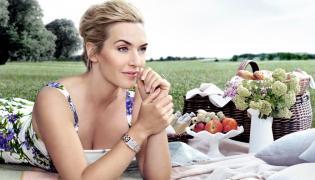 Kate Winslet w reklamie zegarków Longines DolceVita