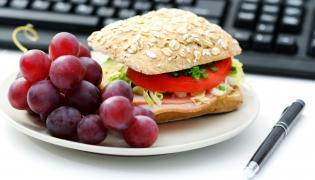 Śniadanie w pracy