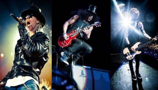 Guns N' Roses w legendarnym składzie