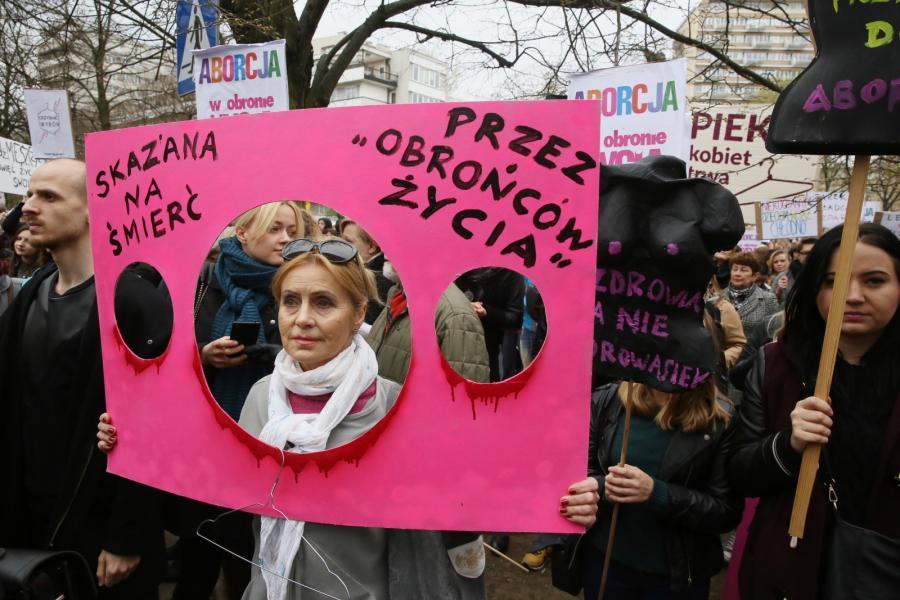 demonstracja odzyskać wybór aborcja