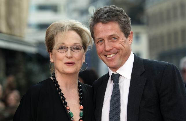 """Meryl Streep i Hugh Grant na premierze """"Boskiej Florence"""""""
