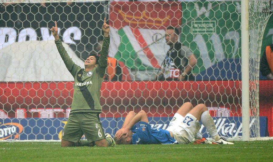 Puchar Polski: Legia obroniła trofeum. W finale pokonała Lecha 1:0