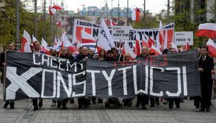 """""""Marsz Po Nową Konstytucję"""" zorganizowany przez ruch Kukiz`15"""