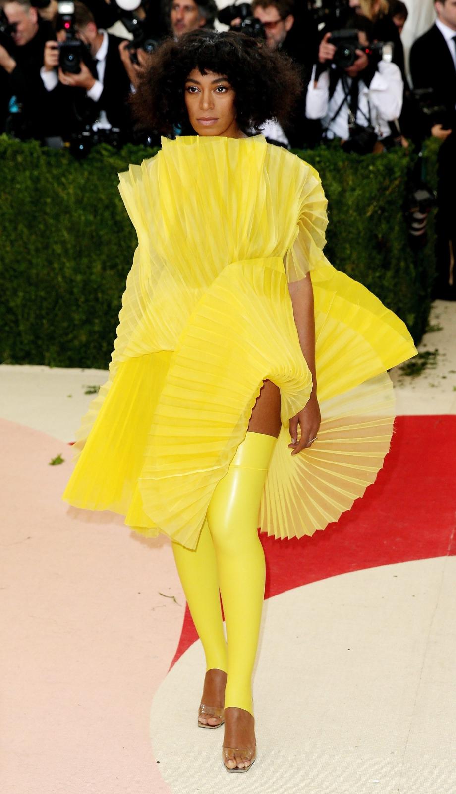 Solange Knowles na Met Gala 2016