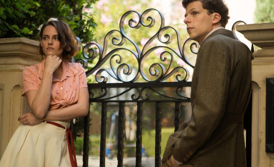 Kristen Stewart i Jesse Eisenberg w filmie \