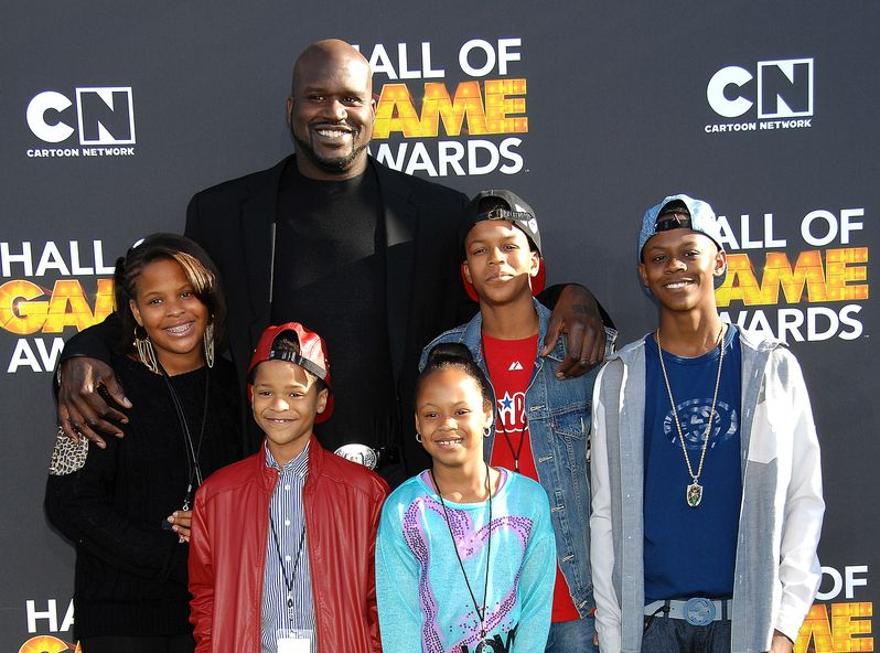 Shaquille O\'Neal i dzieci