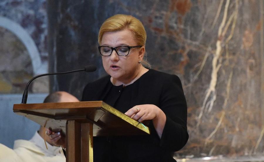 Szefowa Kancelarii Prezesa Rady Ministrów Beata Kempa