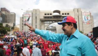 Prezydent Wenezueli, Nicolas Maduro