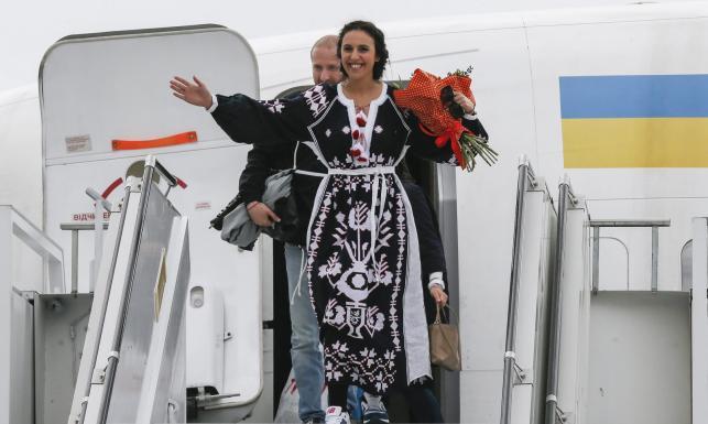 Ukraina w euforii po zwycięstwie Dżamali w Eurowizji. \