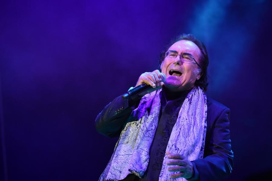 Al Bano podczas koncertu w Krakowie