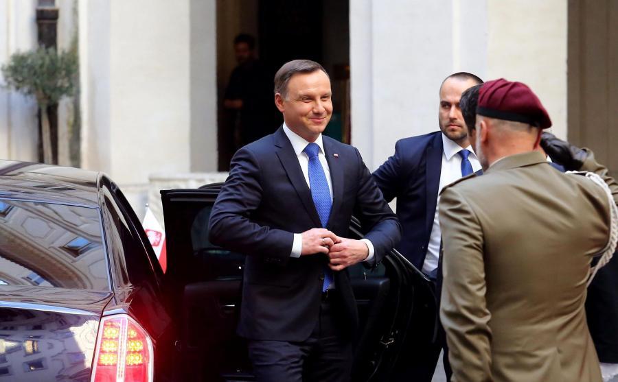 Prezydent Andrzej Duda we Włoszech