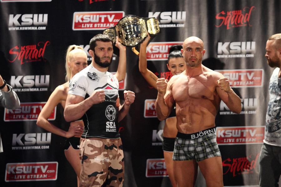 Mamed Chalidow i Aziz Karaoglu