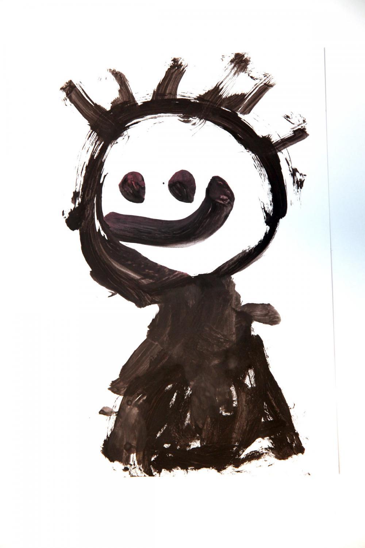 Autor rysunku: Jaś Mandes, lat 7