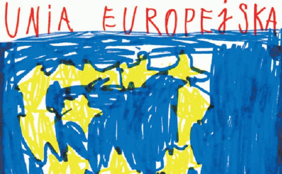 Autorzy rysunku: Mikołaj Majewski (6 lat) i Piotr Czerwonka (7 lat)