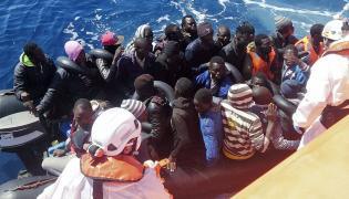 Łódź z imigrantami u wybrzeży Hiszpanii