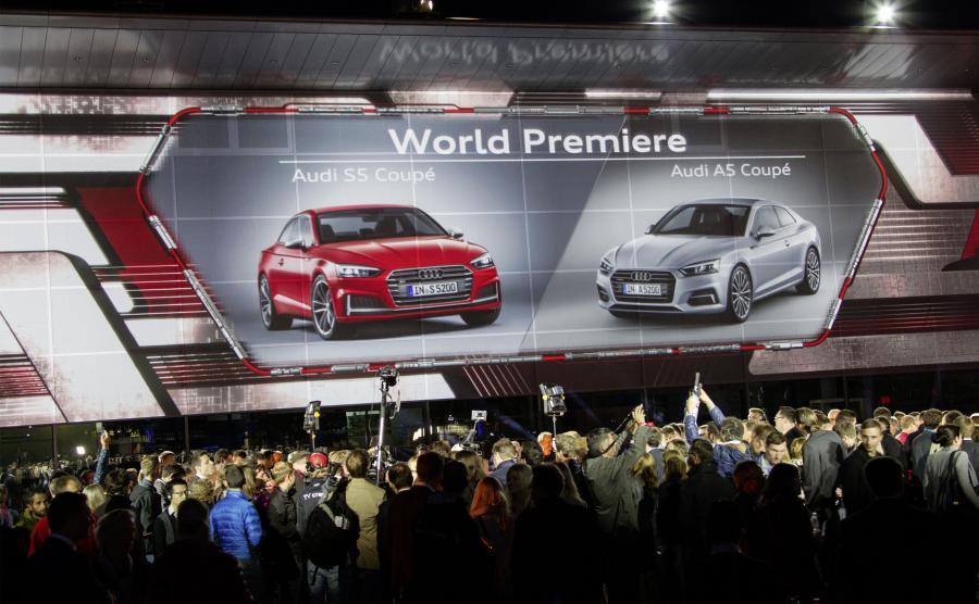 Premiera Audi A5 i S5 w Ingolstadt