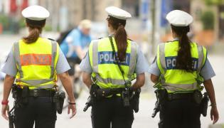 Policja w Duesseldorfie