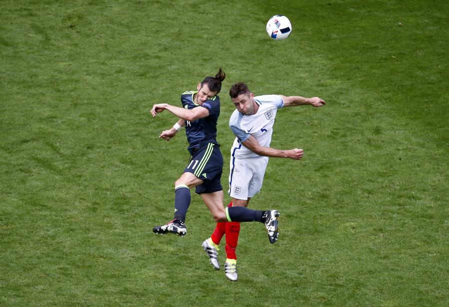 Gareth Bale i Gary Cahill