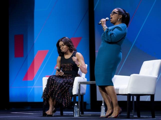 Michelle Obama i Oprah Winfrey
