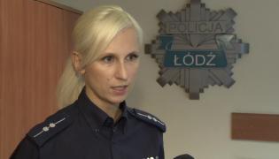 Aneta Sobieraj z łódzkiej policji